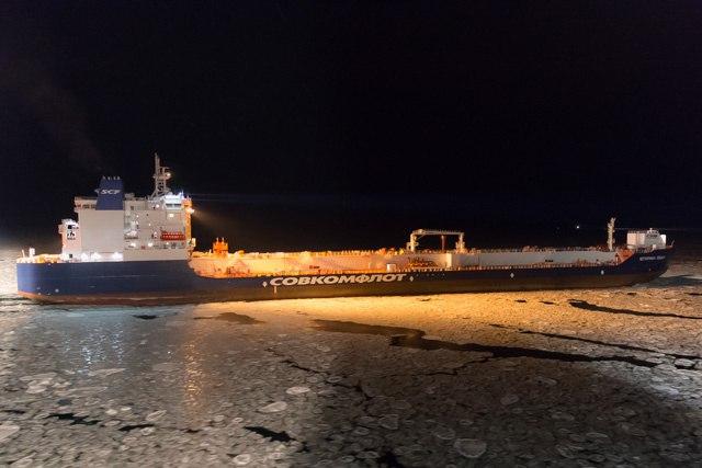 Российские суда совершили уникальный транзитный рейс по Северному морскому пути | Виктор Качурак | КОНТ  https://...