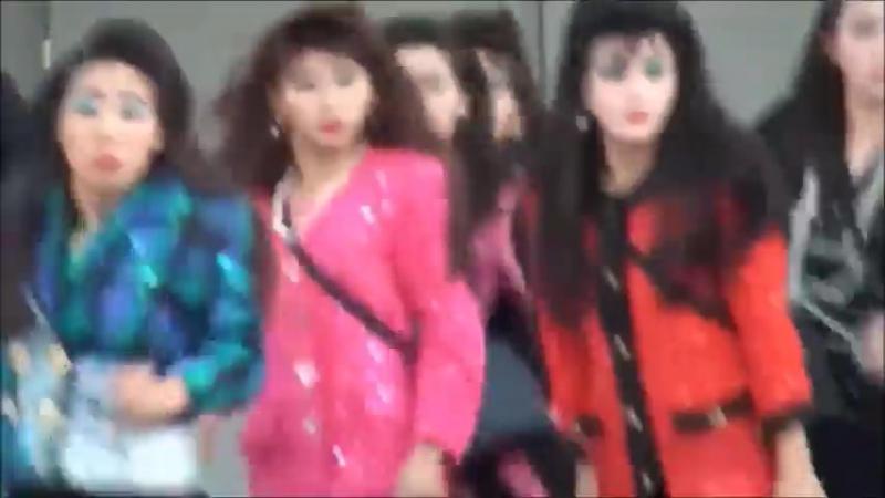 Кореяночки жгут на сцене MiyaGi Эндшпиль–ТАМАДА (ремикс)