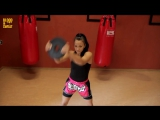 Бокс. Упражнения с блином на все ударные мышцы. Boxing. Weight plates for strikers