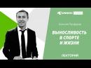 Выносливость в спорте и жизни Алексей Панферов в Лектории I LOVE RUNNING