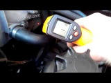 Замер температуры мотора при прогреве автономкой Vito 638 2.2 CDI