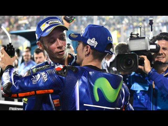 Vinales vs Rossi Yamaha Battle 2017