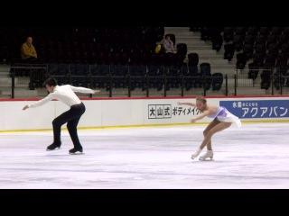 2016 ISU Junior Grand Prix - Tallinn - Pairs Free Skate - Alina USTIMKINA / Nikita VOLODIN RUS