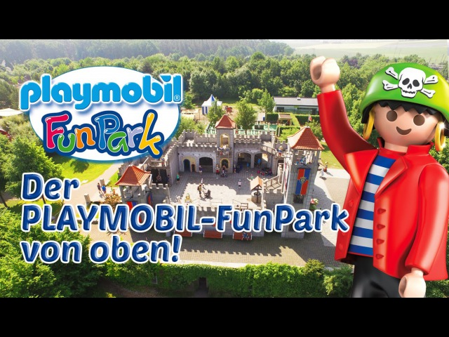 PLAYMOBIL-FunPark: Der große Freizeitpark von oben