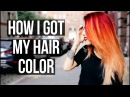 HOW I GOT MY CURRENT HAIR COLOR! Le Happy x Aveda