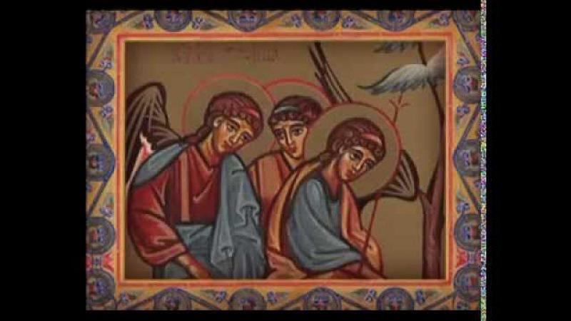 Закон Божий. Гибель Содома и Гоморры. Принесение Исаака в жертву