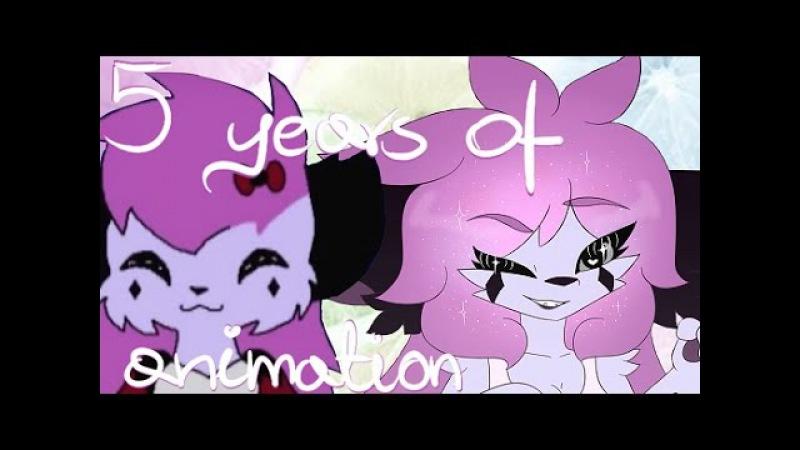 5 years of animation (flash warning ;__;)