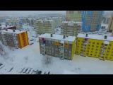 Камчатка Петропавловск-Камчатский (Аэросъемка Северо - Восток)
