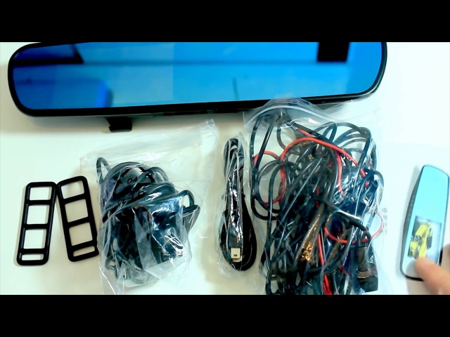 Зеркало-Видеорегистратор CAR DVR MIRROR