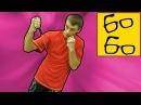 Работа с резиной для ударников с Русланом Акумовым — тренировка с резиной ударов руками и ногами hf,jnf c htpbyjb̆ lkz elfh