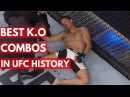 Best Knockout Combos in UFC History - TOP 5 best knockout combos in ufc history - top 5