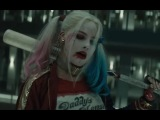 Harley Quinn and Arnold Schwarznegger