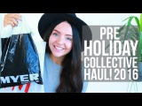 PRE-VACATION COLLECTIVE HAUL 2016 (Skincare, Clothing, Forever 21, H&ampM &amp more!) AUSTRALIAN!