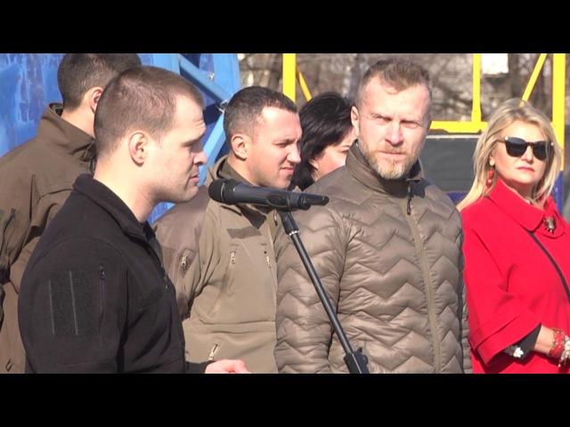 У Слов'янську пройшли урочисті заходи до Дня добровольчих батальйонів