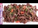ВКУСНОЕ ЖАРЕНОЕ Мясо по-корейски КОРЕЙСКАЯ КУХНЯ рецепт - Easy Bulgogi recipe Korean Marinated Beef