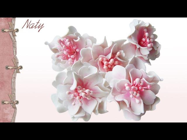 Цветы из Фоамирана Скрапбукинг