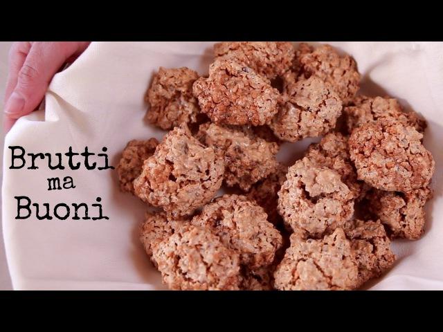 BRUTTI MA BUONI Ricetta Facile - Flourless Nut Cookies Easy Recipe