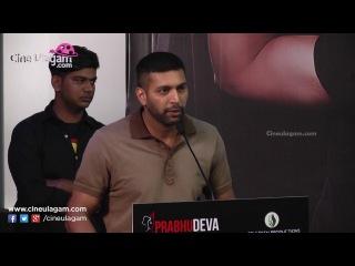 Bogan Press Meet   Prabhu Deva, Jayam Ravi, Hansika Motwani