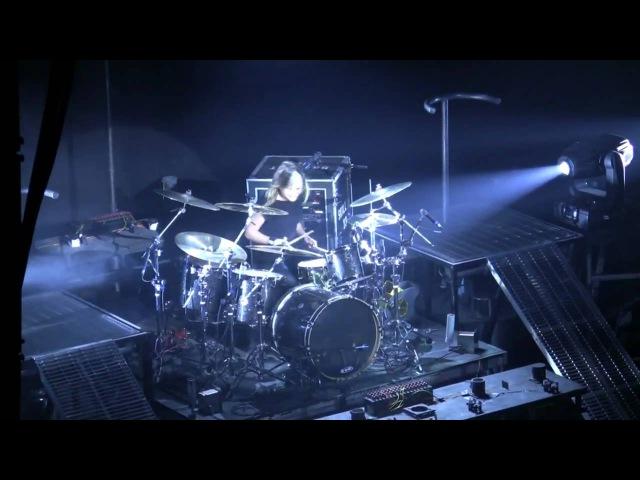 Skillet - Jen Ledger Drum Solo - Awake and Alive tour - New York - High Quality