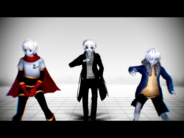 [MMD Undertale] DADDY (W.D. Gaster,Papyrus and Sans)