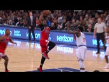 Dwyane Wade Soars For The Dunk in The Garden  01.12.17