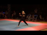 Jesse Jane McParland Open Hand Form Flanders Cup 2016