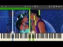 Aladdin - A Whole New World - Synthesia Piano Solo Tutorial