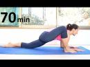 Медленная тягучая йога 70 минут все уровни chilelavida йога с Леной