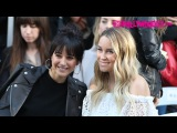 Emmanuelle Chriqui &amp Lauren Conrad Attend The Rebecca Minkoff Fashion Show At The Grove 2.4.17