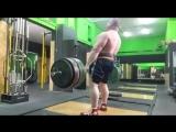 Влад Алхазов, тяга 370 кг на 2 раза