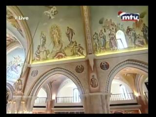 Совместная русско-арабская литургия. Бейрут