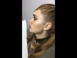 Make up by Danil Shevchuk gold makeup