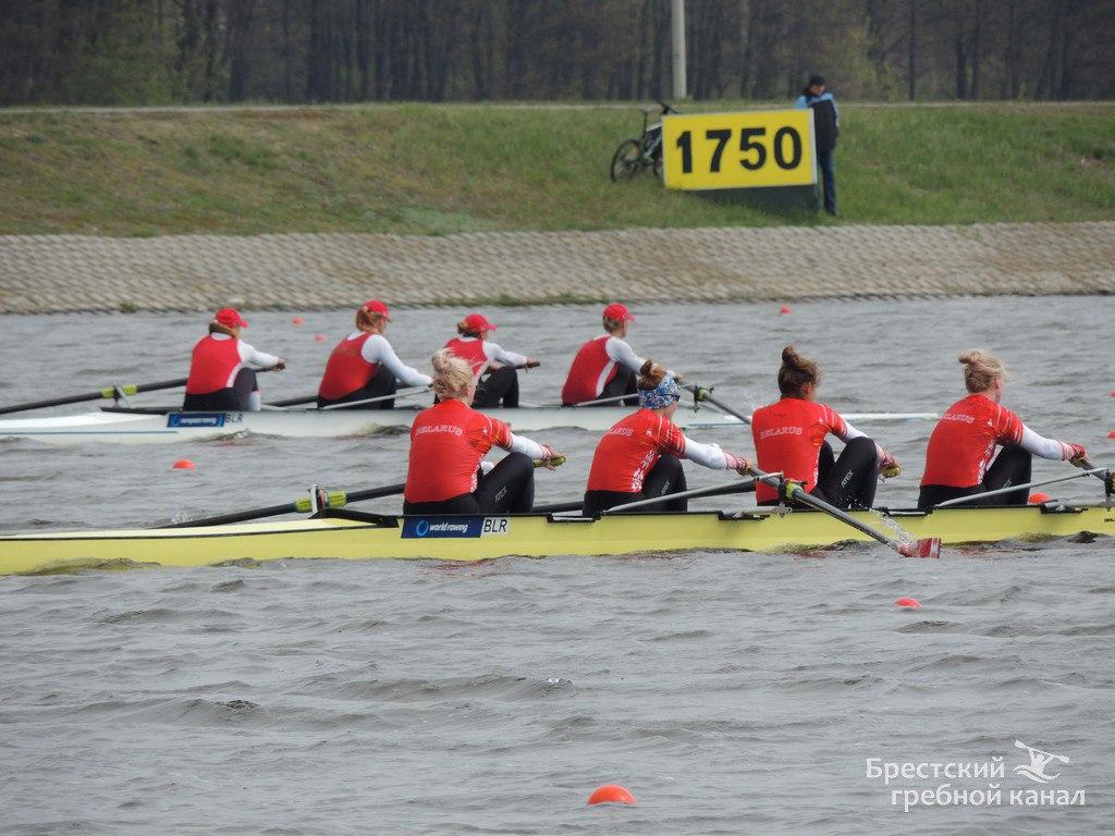 Новый сезон соревнований встречает Брестский гребной канал