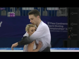 Four Continents Championships 2017. Pairs - FР. MOORE TOWERS ⁄ Michael MARINARO