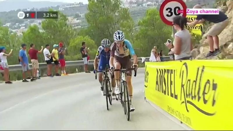 Vuelta a Espana Stage 9 Orihuela - Cumbre del Sol (174km)
