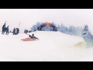 каное на снігу