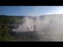 Пожар под Иркутском