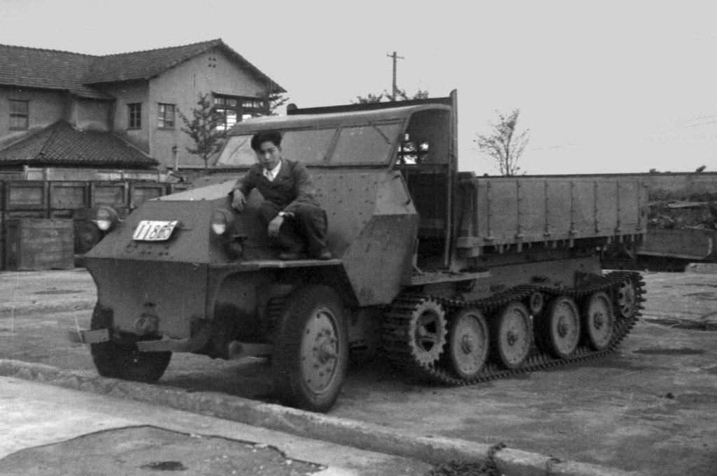 Послевоенная переделка японского БТР Хо-Ха.
