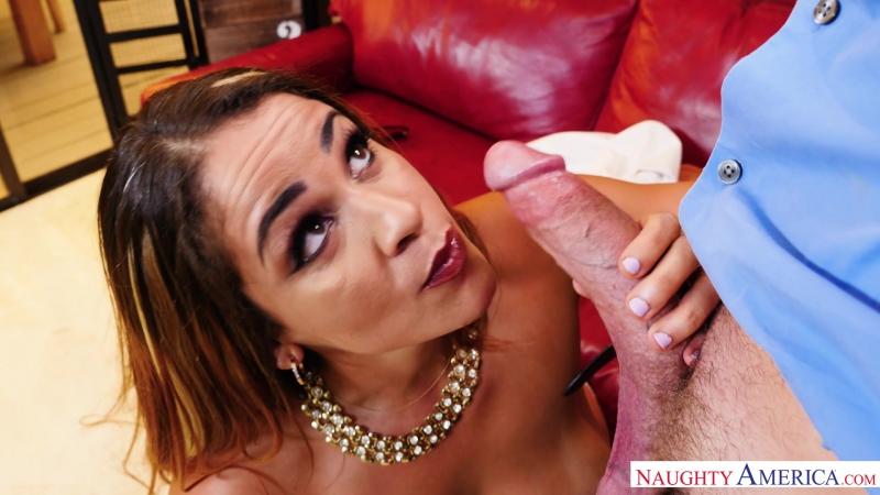 Miss Raquel [2017, Big Tits, Deepthroat, Facial, Hand Job, Latina, MILFs, Swallow, Titty Fucking, HD 1080p]