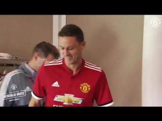 NEMANJA MATIC ARRIVES AT UNITED