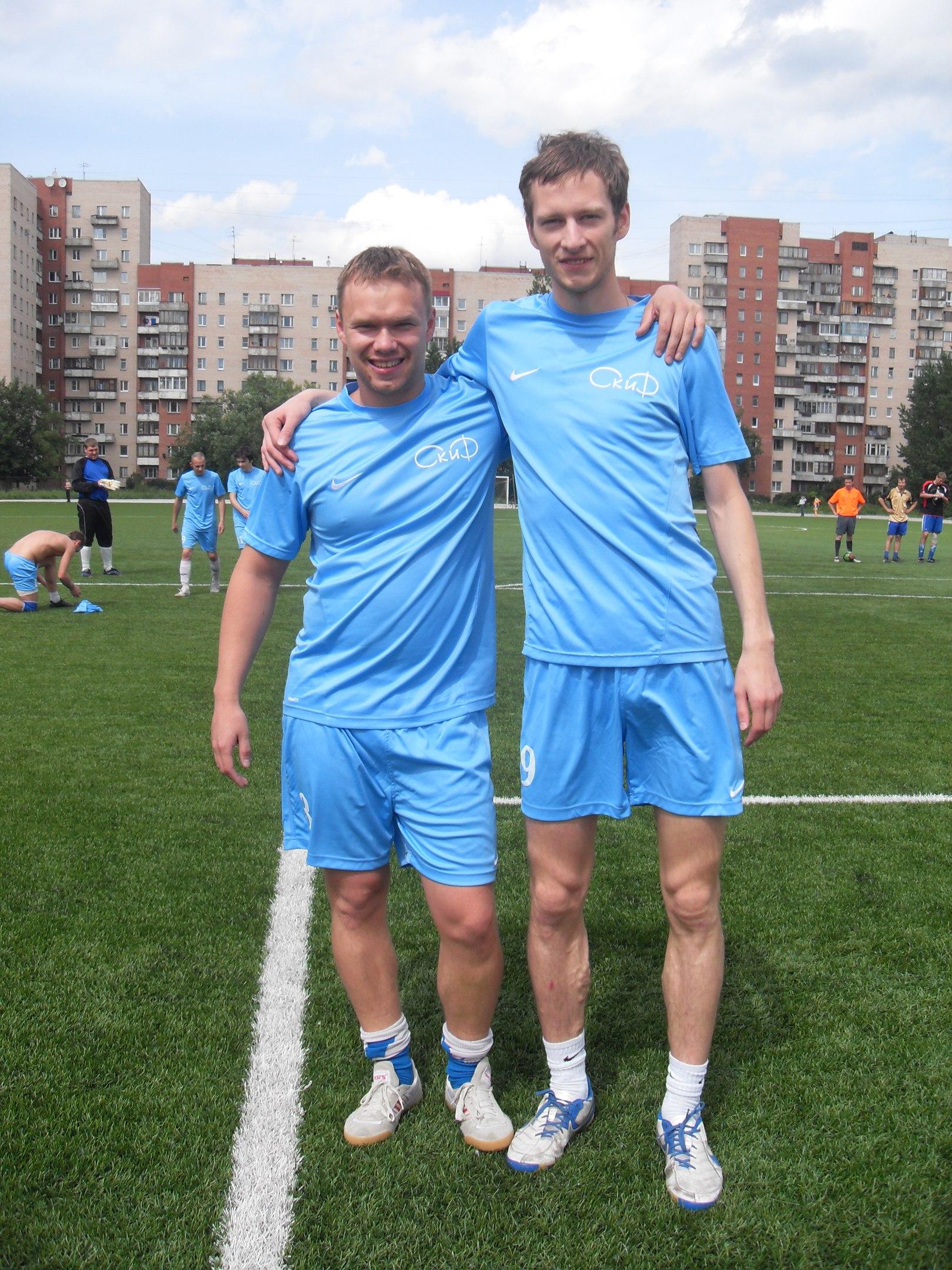 Игорь Смирнов и Дмитрий Гундоров