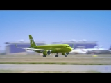 Первый полет A320neo