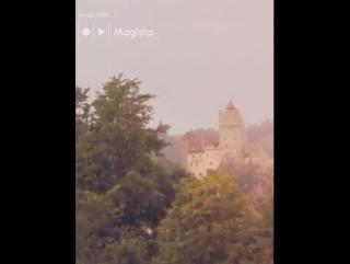 Замок Бран, Трансильвания, Румыния, киношное пристанище Дракулы