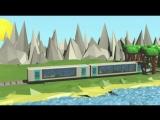 Железнодорожный транспорт в гармонии с природой
