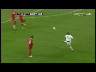 Inter Milan Zlatan Ibrahimovic Free Kick vs Fiorentina