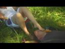 Man Kisses a Womans Feet   Part 4