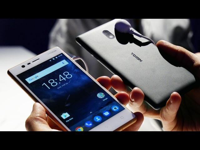 Первый обзор Nokia 3, Nokia 5 и Nokia 6