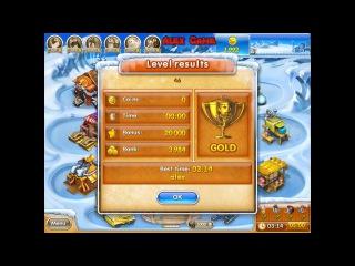 Веселая ферма 3 Ледниковый период (уровень 46) Золото Farm Frenzy 3 Ice Age (level 46) only GOLD