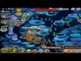 The King of Towers - Deep Sea (heroic 3) Victory. Ancient Wreckage Heroic Mode (Part 124)