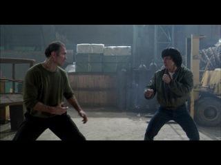 Jackie Chan vs Bill Wallace Best Fight Scene THE PROTECTOR HD
